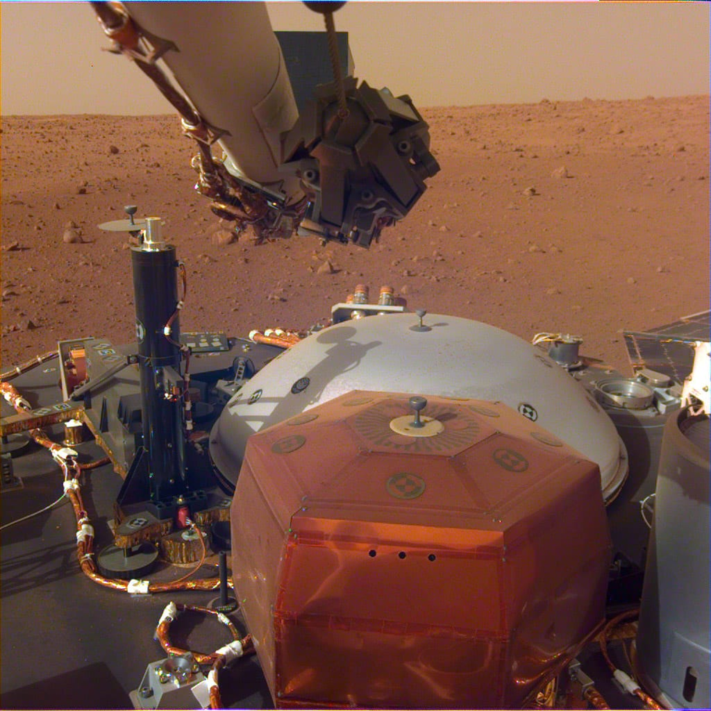 insight mars lander arm