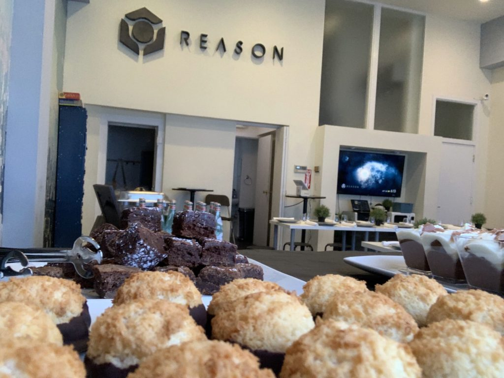 yummy desserts at reason