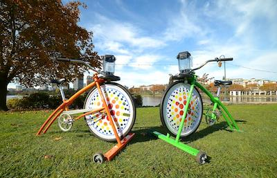 bike powered smoothie machines