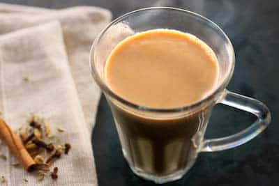 chai latte drink