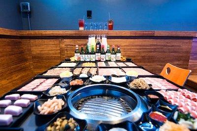 korea bbq feast